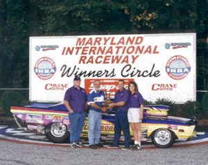 Maryland International Raceway Winners Circle